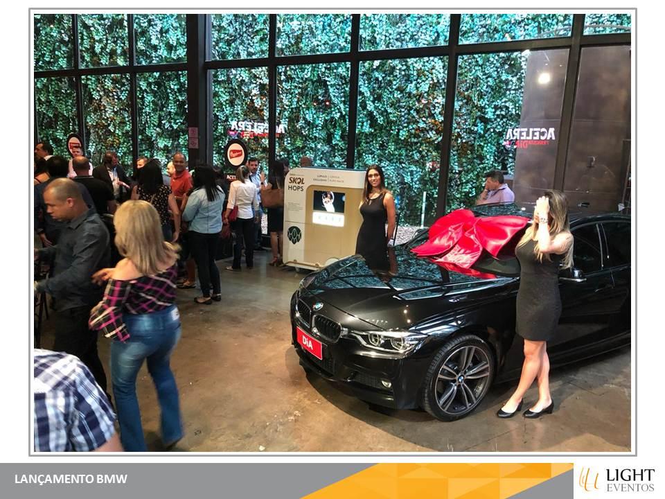 Lançamento BMW